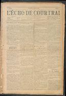 L'echo De Courtrai 1911-01-01
