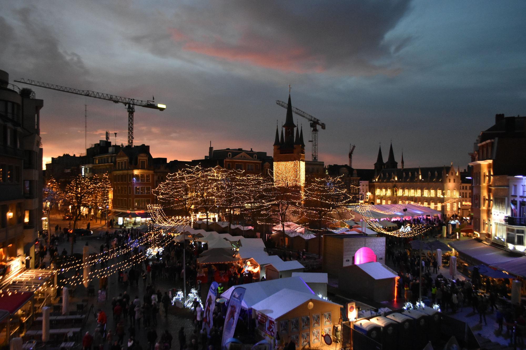Grote Markt in kerstsfeer