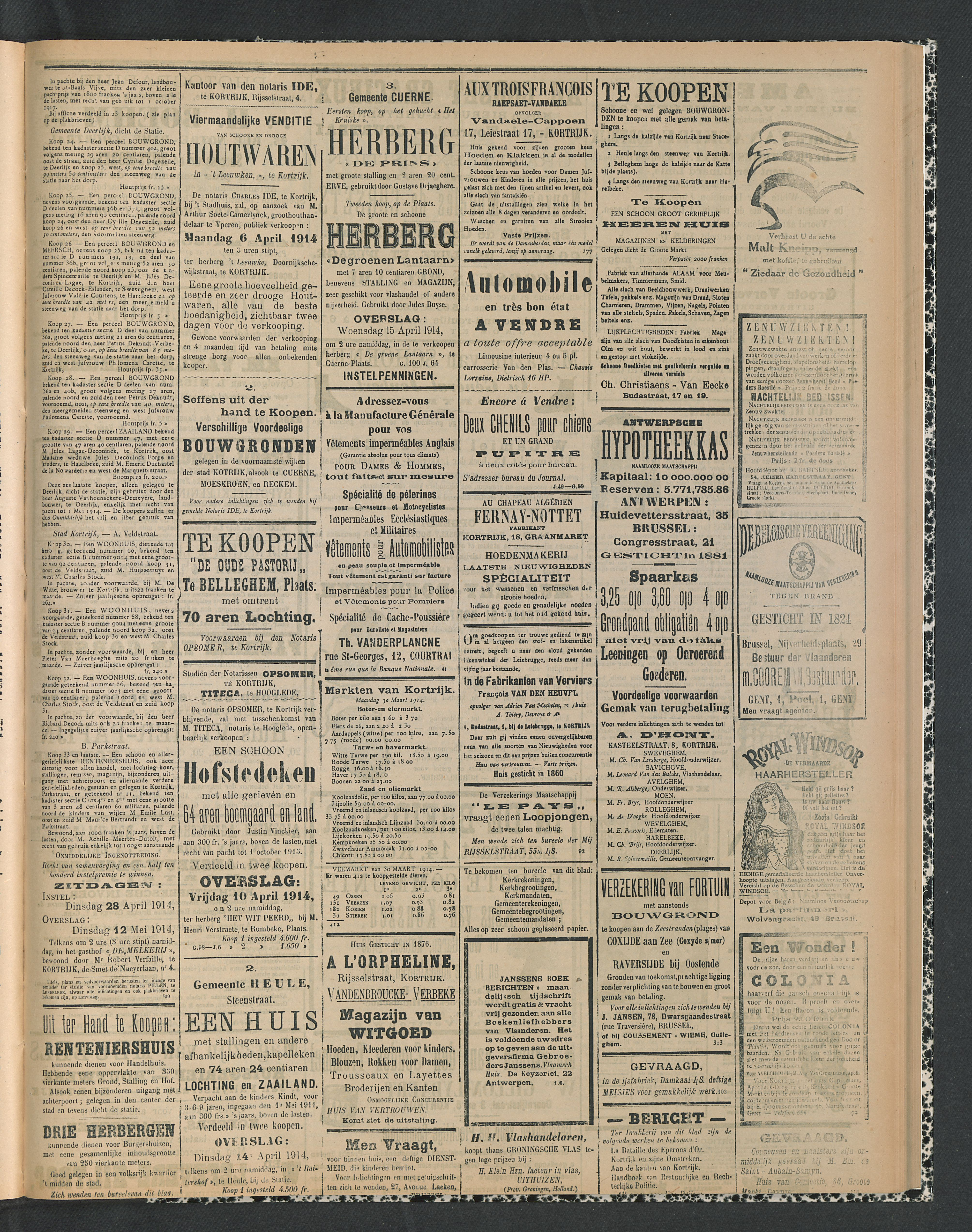 Gazette Van Kortrijk 1914-04-02 p3