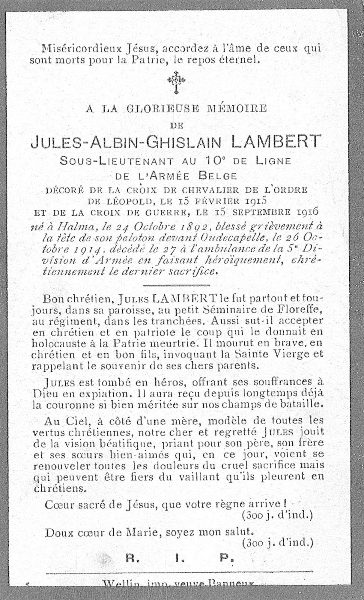 Jules-Albin-Ghislain Lambert