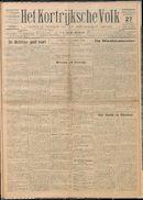 Het Kortrijksche Volk 1927-11-27