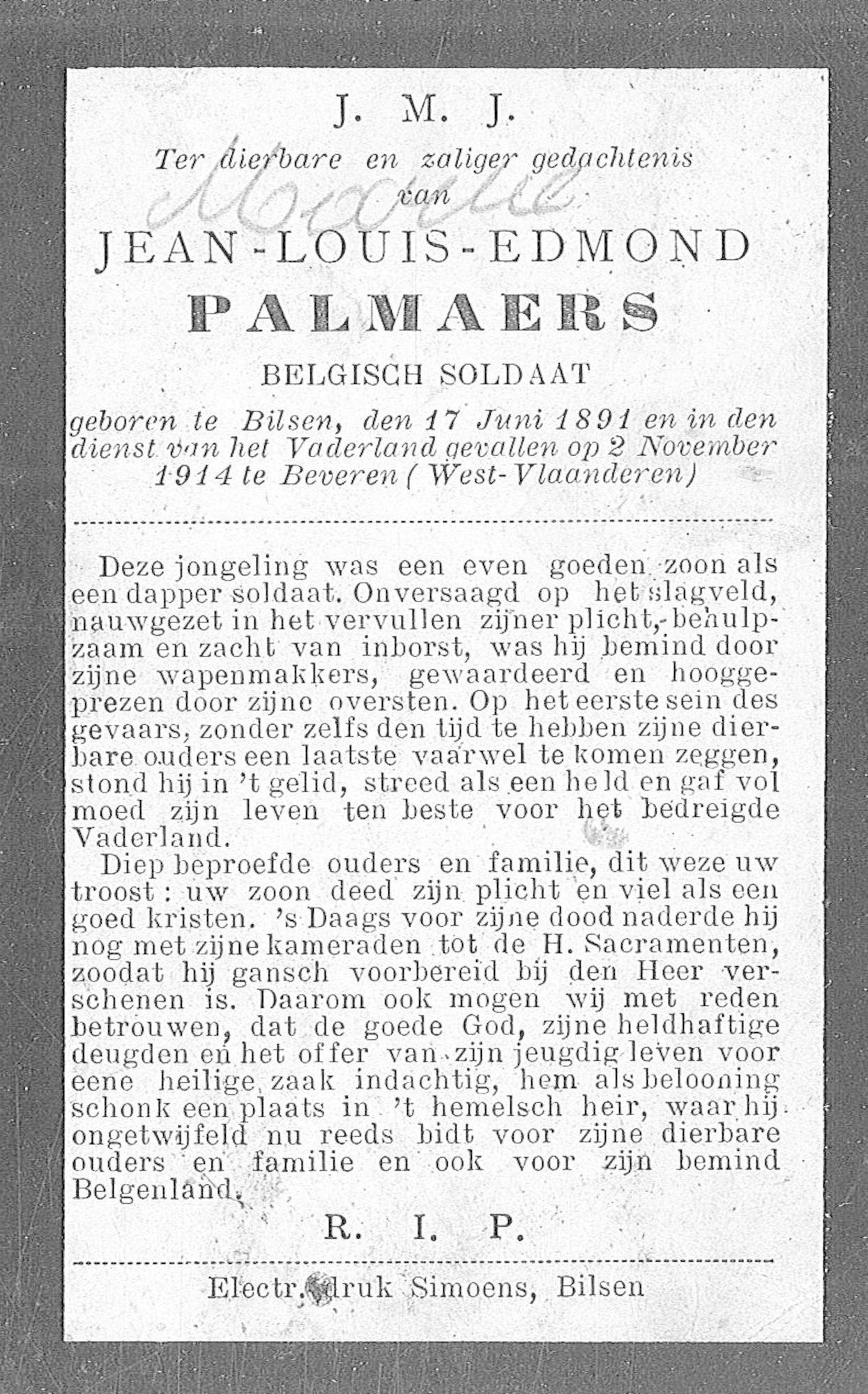 Jean-Louis-Edmond Palmaers