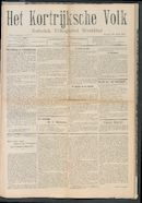 Het Kortrijksche Volk 1907-04-28