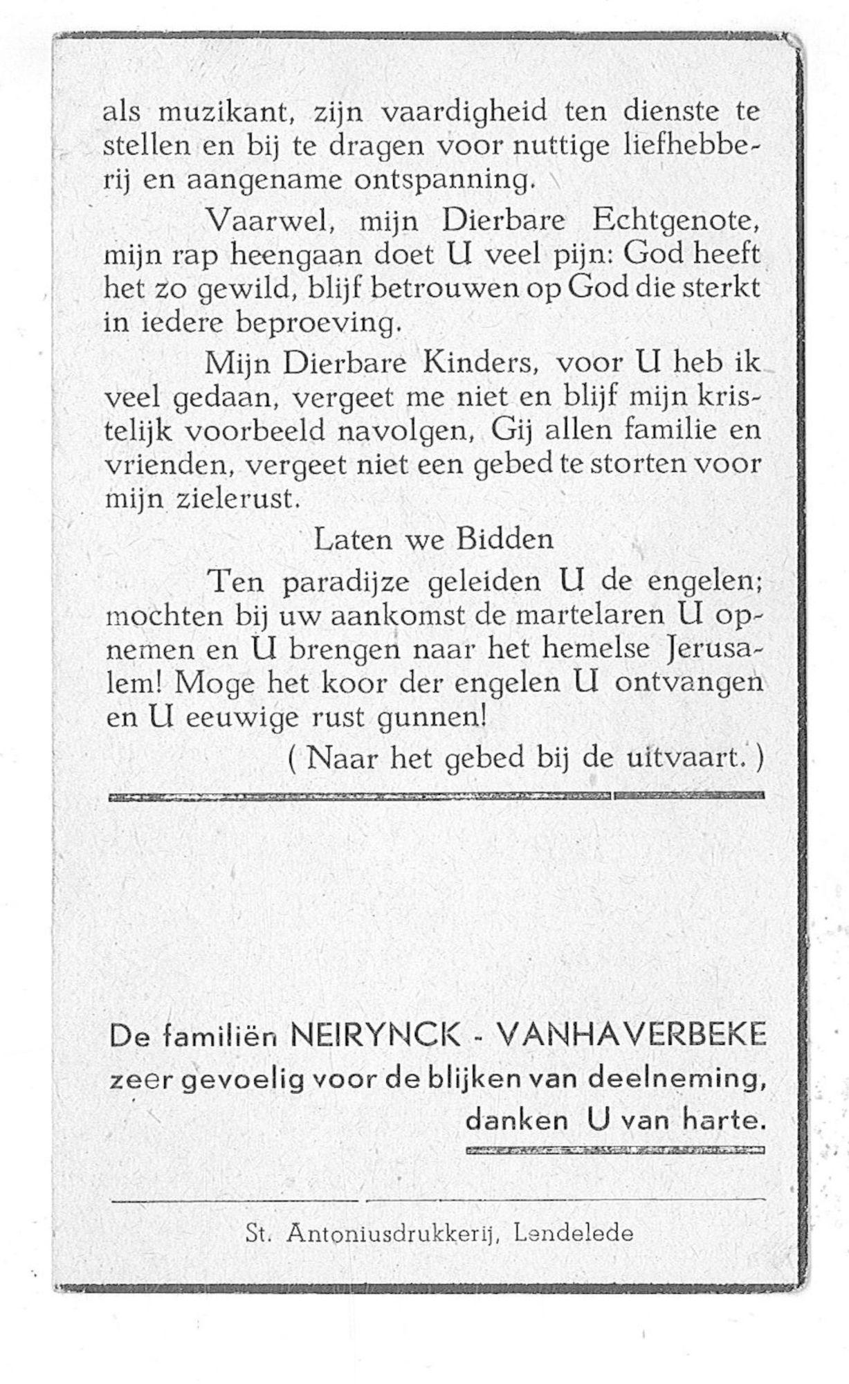 Achiel Neirynck