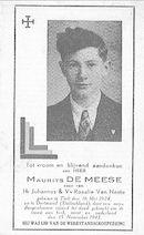 Maurits De Meese