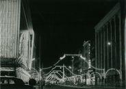 Doorniksestraat kerstverlichting 1960