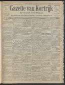 Gazette Van Kortrijk 1908-08-16