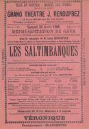 Paasfoor 1906: Grand Théatre J. Renouprez