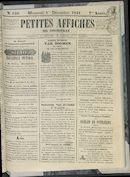 Petites Affiches De Courtrai 1841-12-01