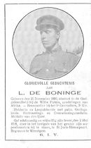 L .De Boninge