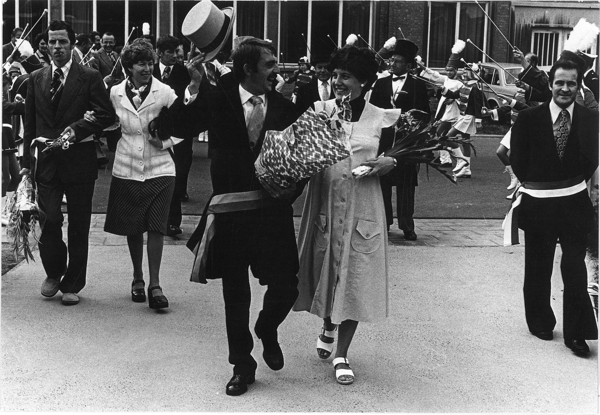 Wijkburgemeester Romain Carette 1977