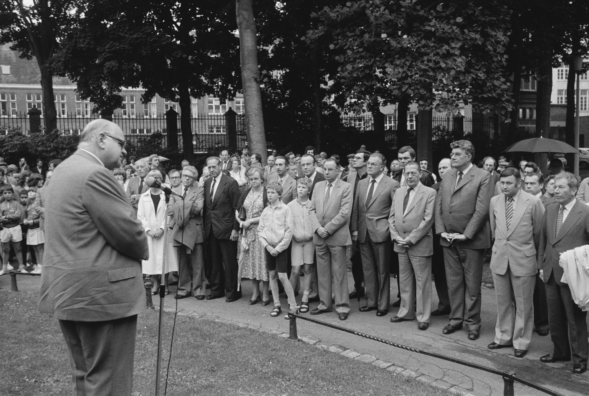 Toespraak tijdens de 11 juliviering 1981