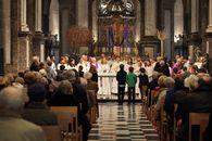 Viering in de Onze-Lieve-Vrouwekerk