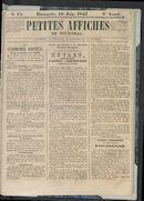 Petites Affiches De Courtrai 1842-06-19