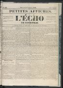 L'echo De Courtrai 1853-11-09