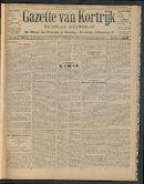Gazette Van Kortrijk 1911-01-29