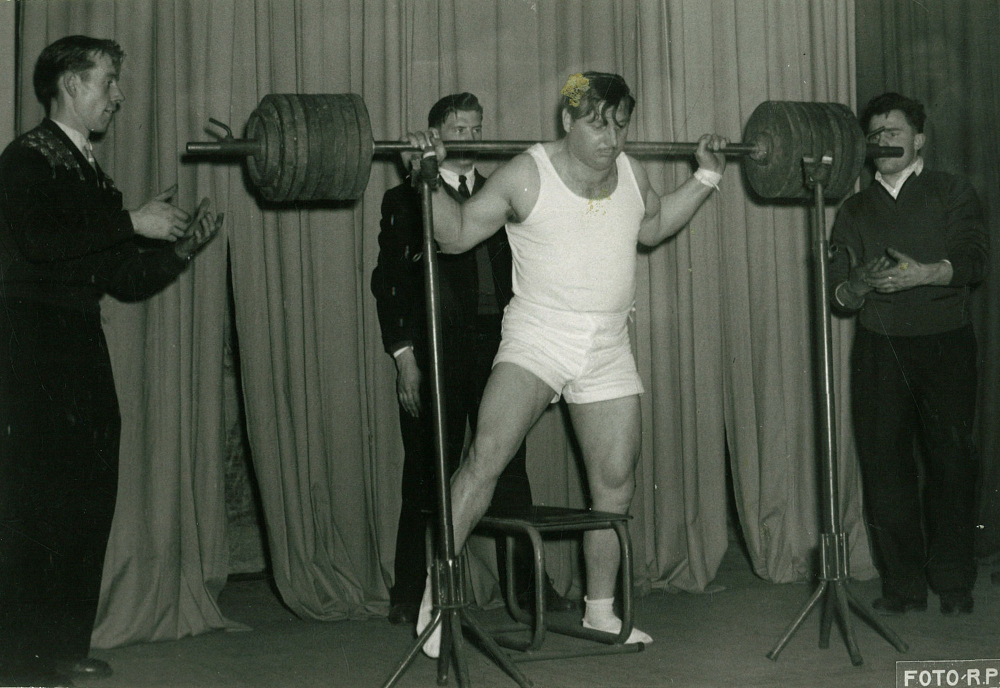 Gewichtheffer Willy Soubry