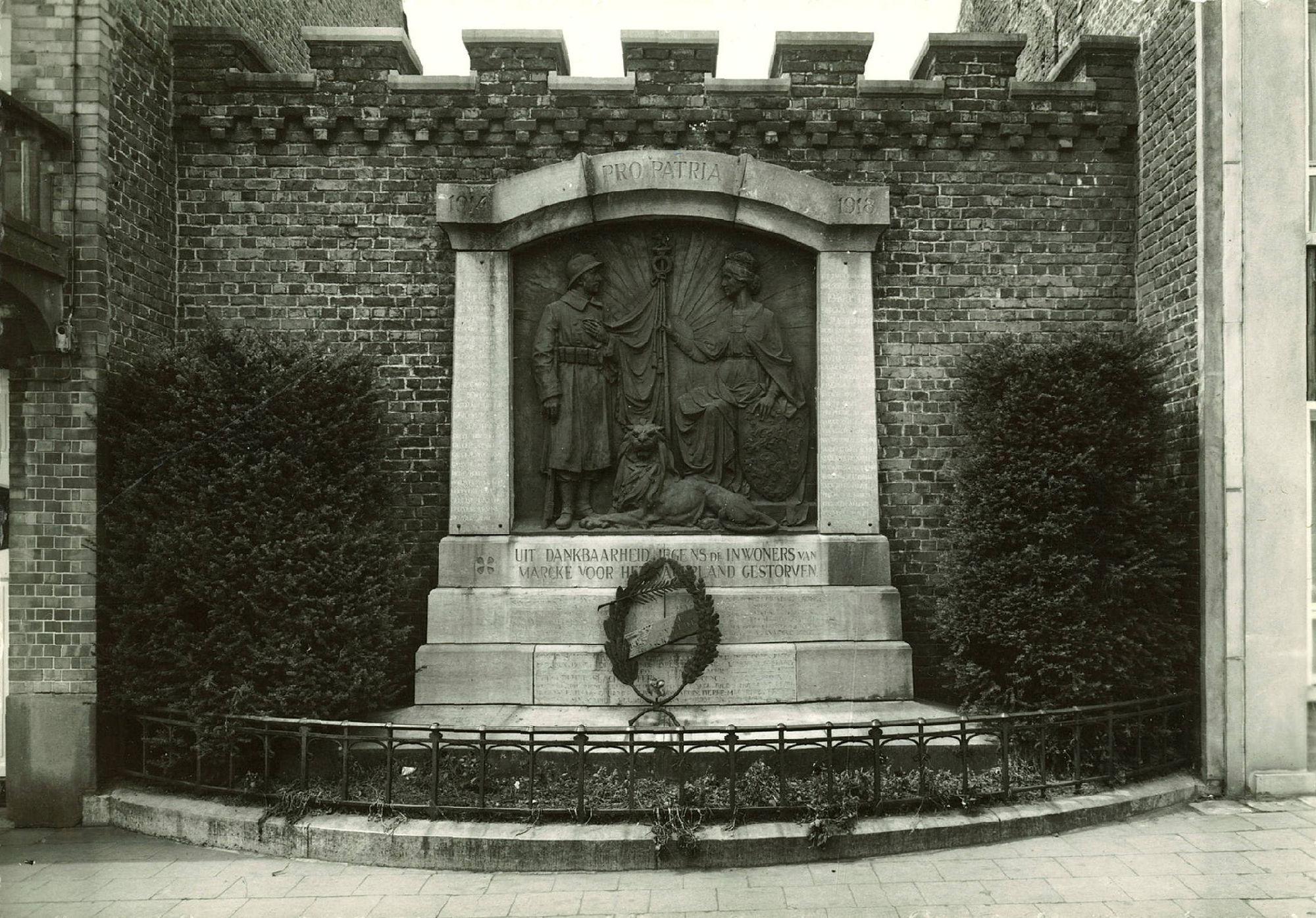 Monument voor de oorlogsslachtoffers Marke