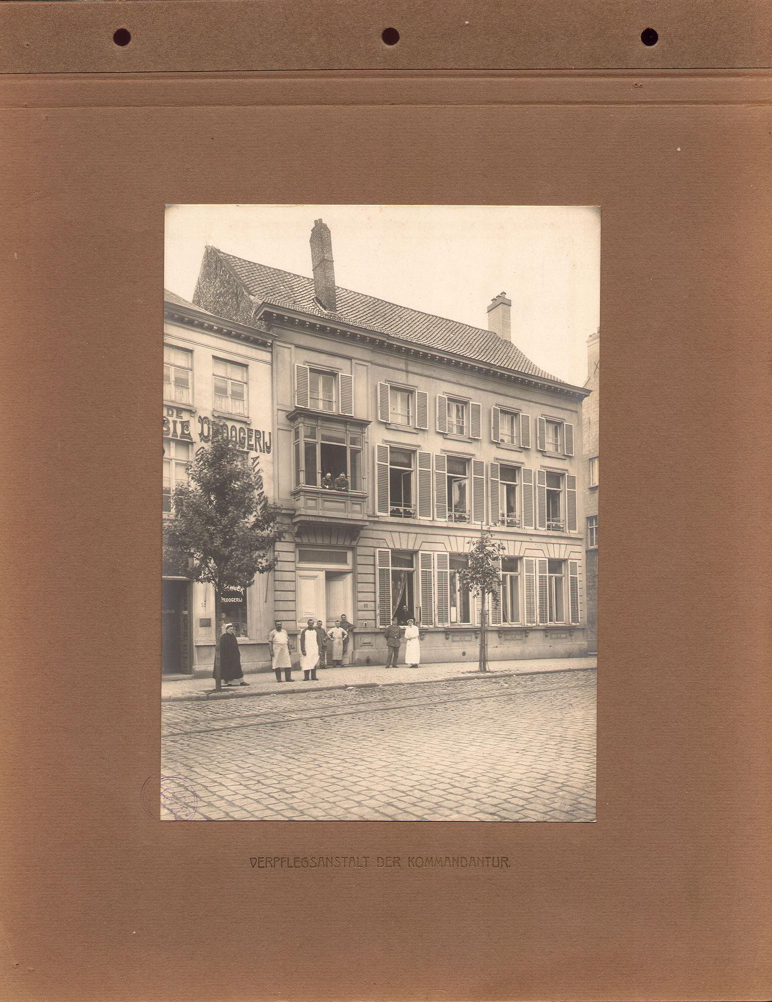 Verpleegpost tijdens Wereldoorlog I