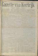 Gazette Van Kortrijk 1916-10-21