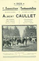 Albert Caullet Kortrijks dierenschilder