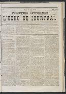 L'echo De Courtrai 1873-08-28