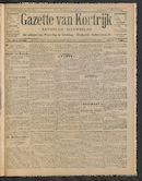 Gazette Van Kortrijk 1910-12-08