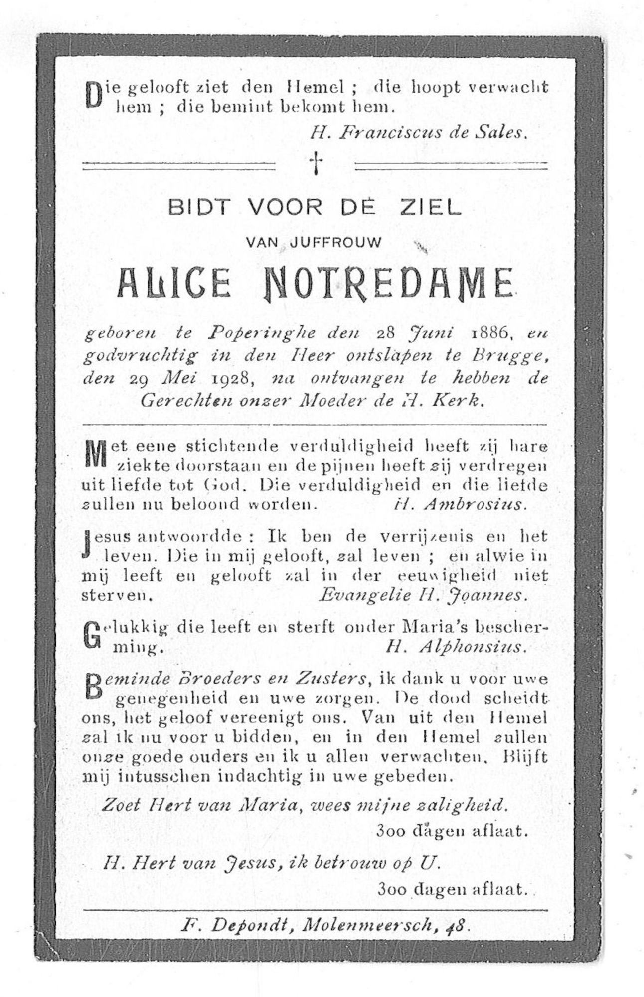 Alice Notredame