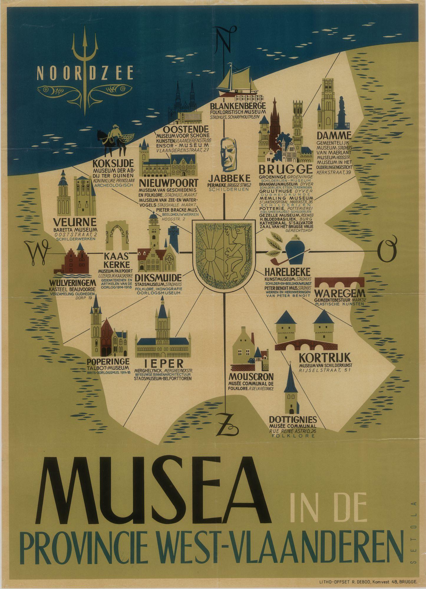 Westflandrica - West-Vlaanderen, musea