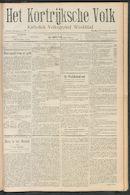 Het Kortrijksche Volk 1910-11-20