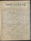 Gazette Van Kortrijk 1909-05-16