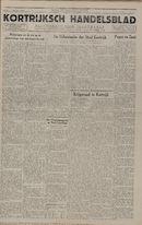 Kortrijksch Handelsblad 1 oktober 1946 Nr79