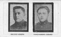 Jozef Decock en Gerard Van Overbeke