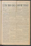 L'echo De Courtrai 1914-07-05