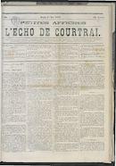 L'echo De Courtrai 1873-05-01