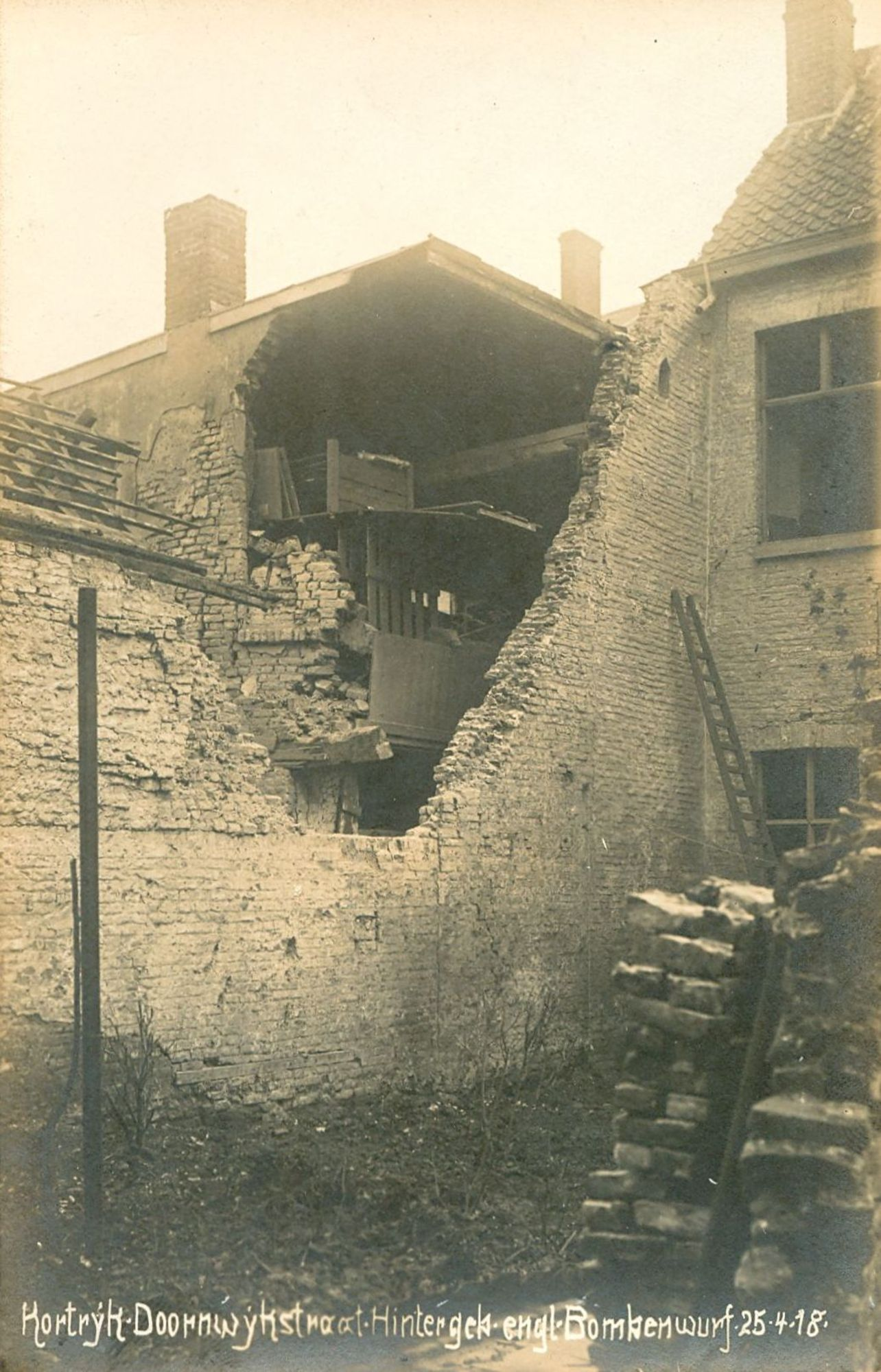 Doorniksewijk in 1918