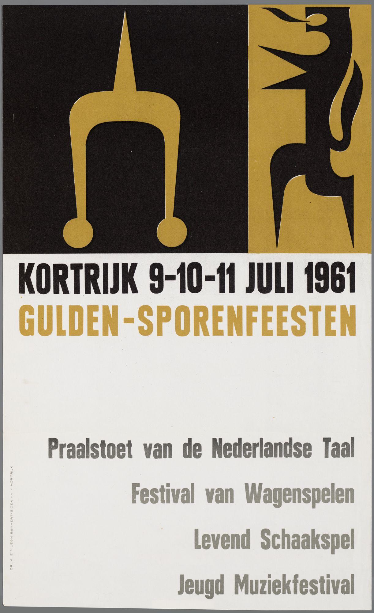 Guldensporenviering 1961