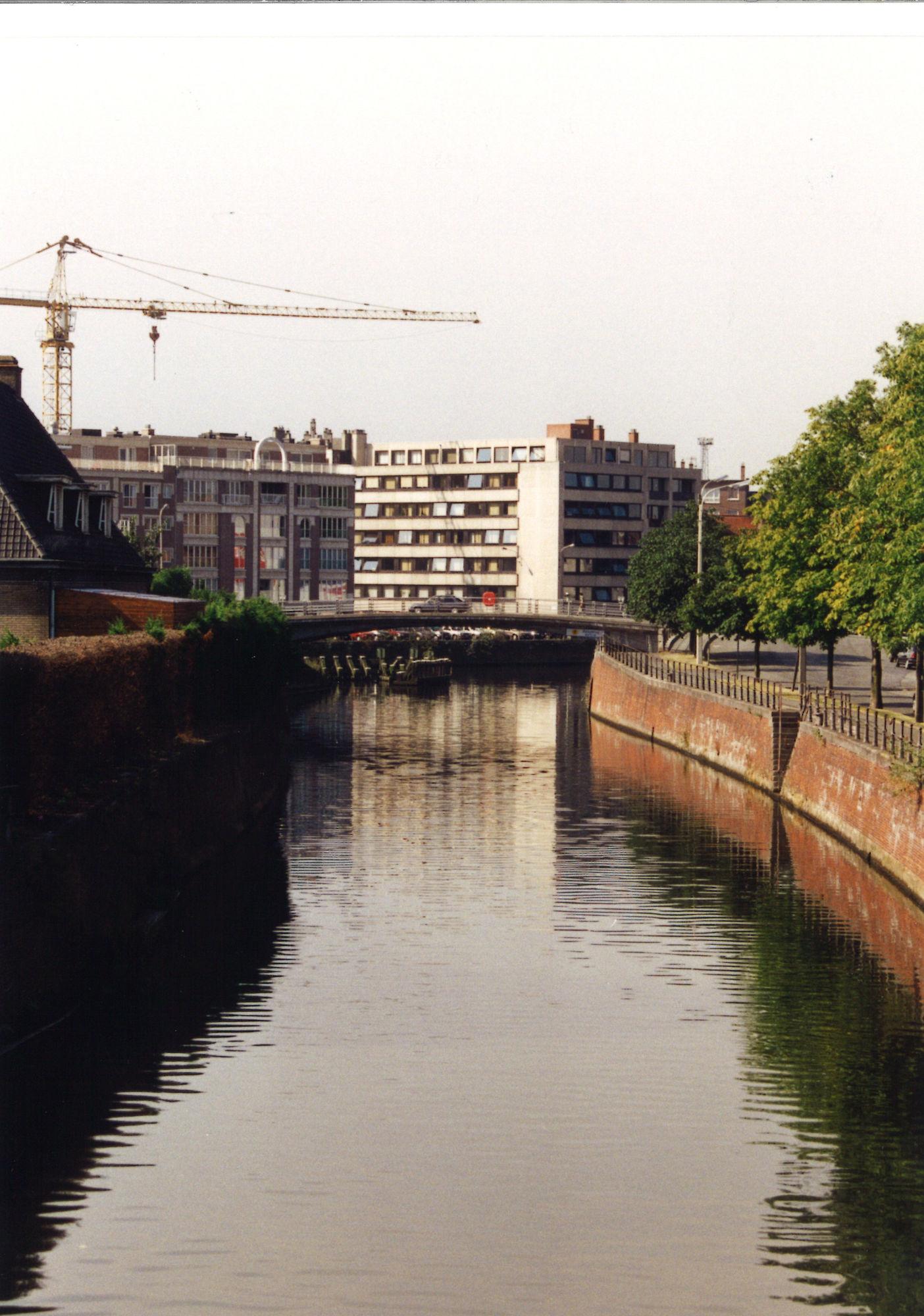 Leie tussen Budabrug en Reepbrug 1995