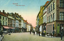 Lange Steenstraat en café A la Banque