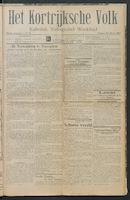 Het Kortrijksche Volk 1914-03-22