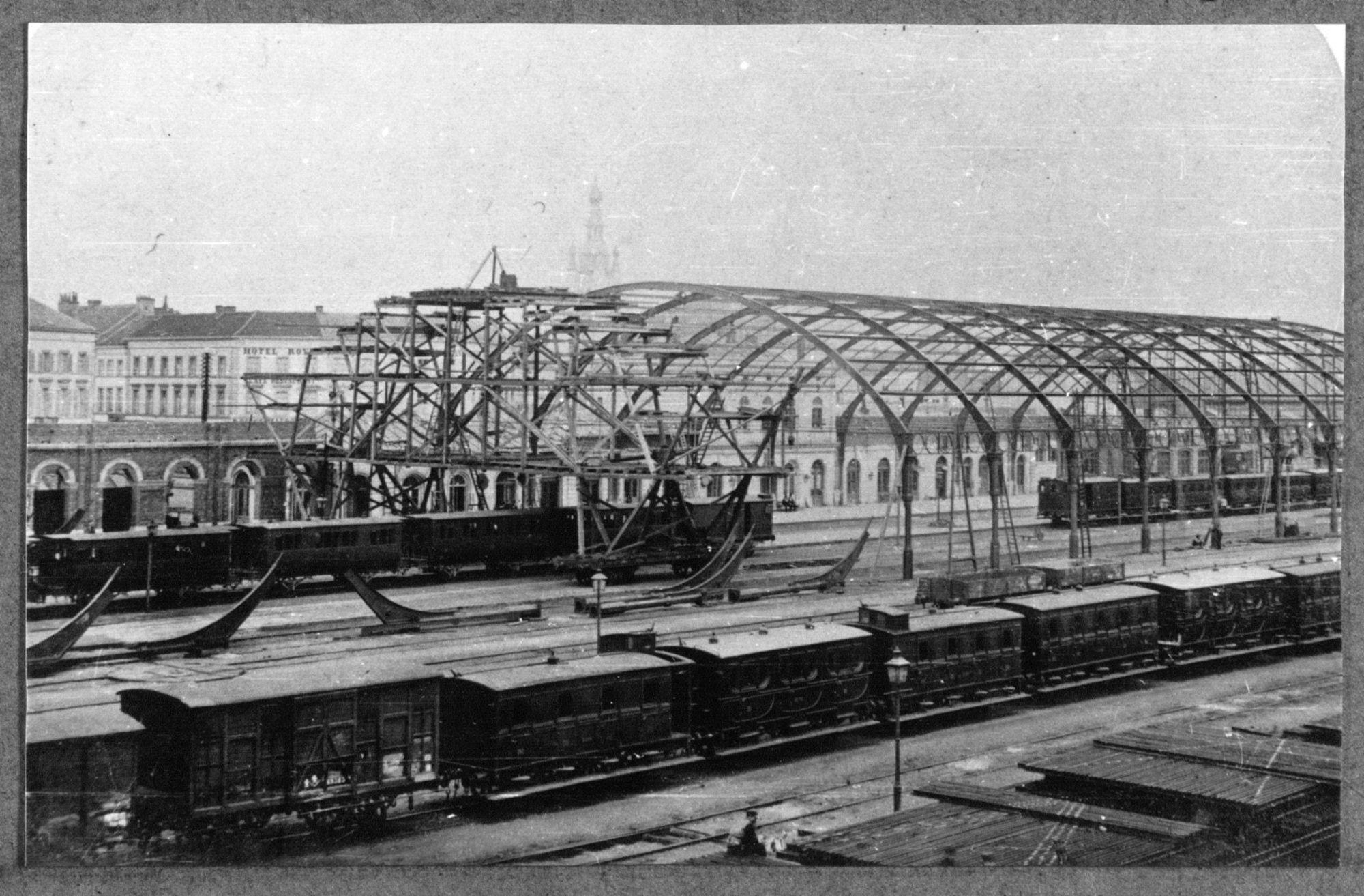 Overkapping van het station van Kortrijk