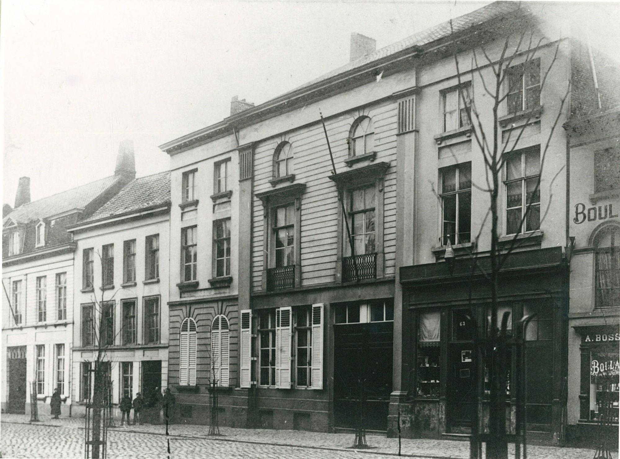 Het huis Casens-Hyvaert
