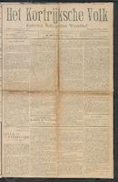 Het Kortrijksche Volk 1909-03-14