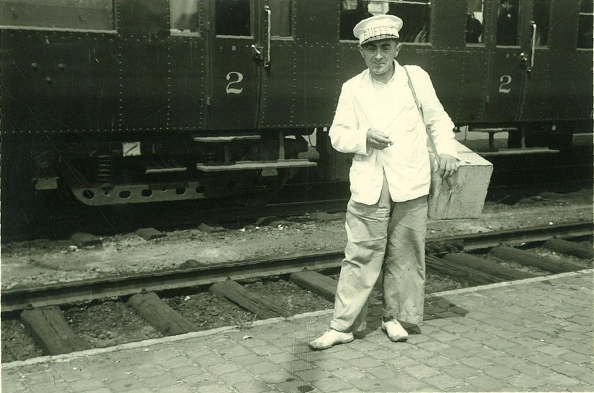 Friscoman in het station