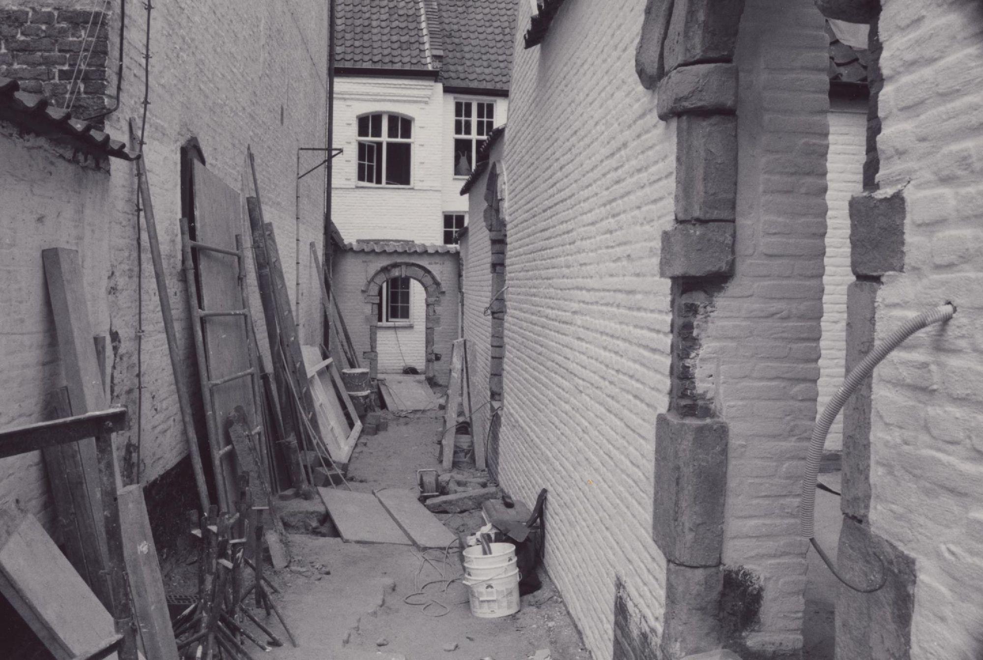 Renovatiewerken in het Begijnhof