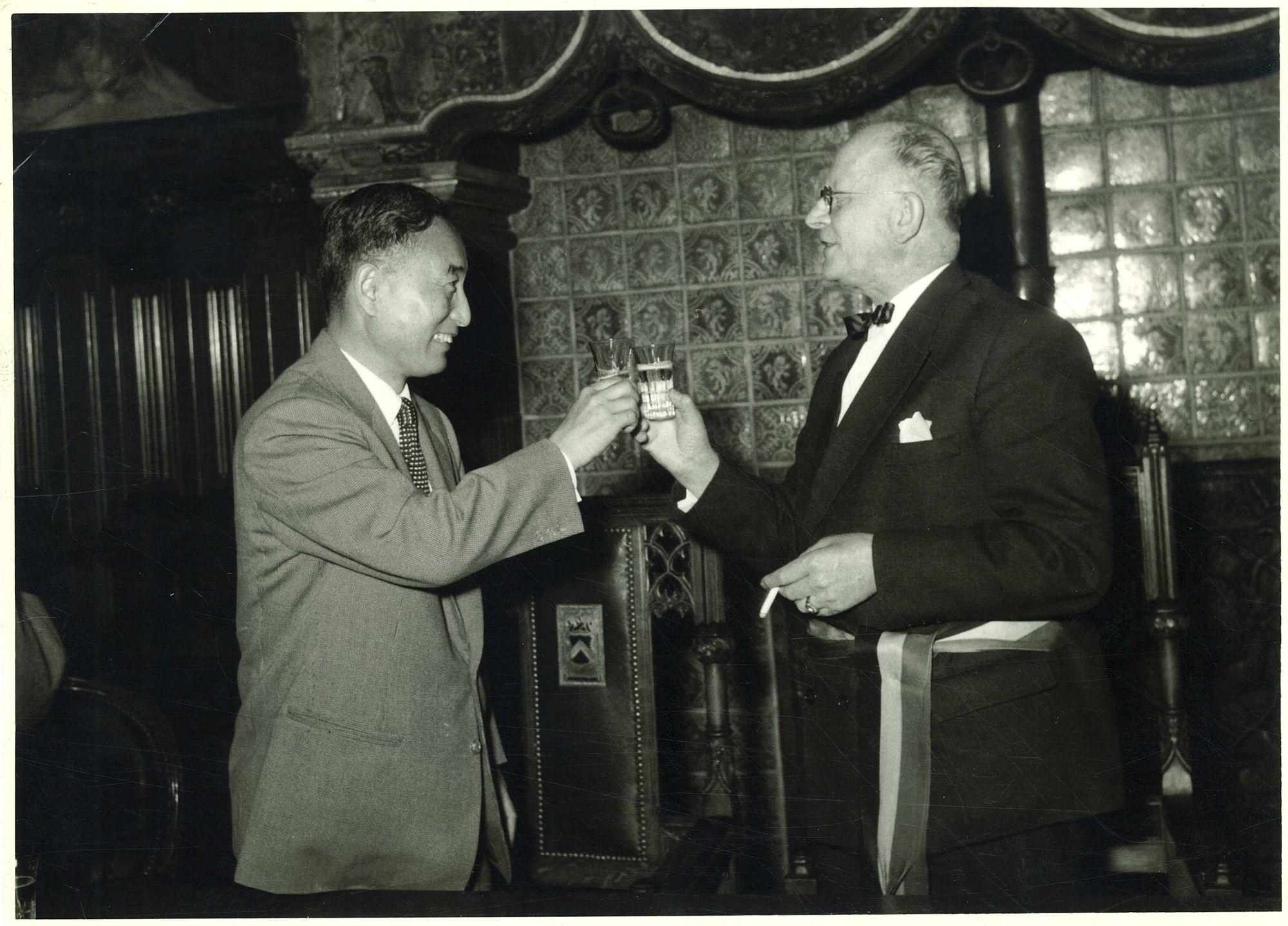 Ontvangst Japanse ambassadeur