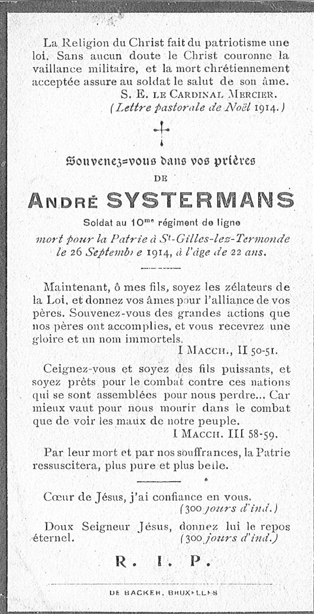 André Systermans