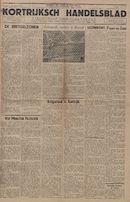 Kortrijksch Handelsblad 5 november 1946 Nr89 p1