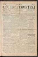 L'echo De Courtrai 1910-03-06