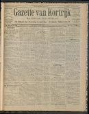 Gazette Van Kortrijk 1911-07-23 p1